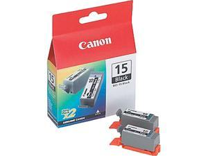 Canon BCI-15BK  twin pack Ink tank, cartridge 15&#59; Black (8190A003)