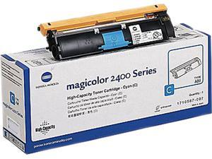 KONICA MINOLTA 1710587006 CYAN HIGH CAP TONER Cartridge Cyan