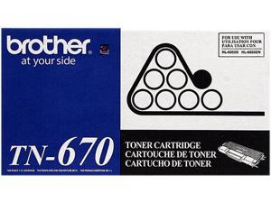 Brother TN670 Toner Cartridge - Black