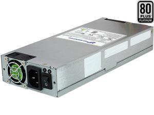 FSP Group 600W ATX Power Supply Single 1U Platinum Certified for Rack Mount Case (FSP600-80UEPB)