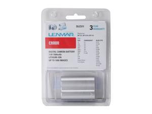 LENMAR DLC511 1-Pack 1500mAh Li-Ion Replacement Battery Canon BP-511A
