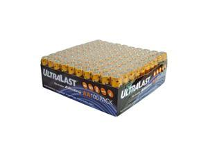 ULTRALAST ULA100AAB 100-pack AA Alkaline Batteries