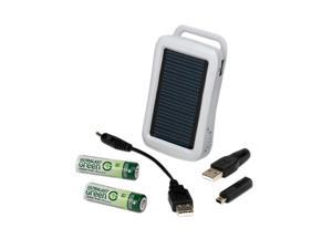 ULTRALAST ULGSOLAR 2-pack 2100mAh AA Ni-MH Rechargeable Batteries & Charger Kit