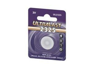 ULTRALAST UL2325 1-pack 175mAh 2325 Lithium Coin Cell Batteries