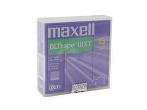 maxell 183570 15/30GB DLTIIIXT Cartridge 1 Pack
