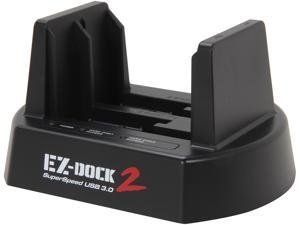 "KINGWIN  EZD-2536U3  2.5"" / 3.5"" Dual Bay SATA Hard Drive Docking Station USB 3.0 w/ Clone - Retail"