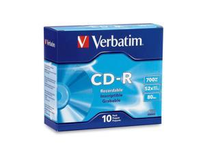 Verbatim 700MB 52X CD-R 10 Packs Disc Model 94935