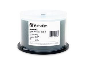 Verbatim 4.7GB 8X DVD-R Inkjet Printable 50 Packs DataLifePlus Disc Model 95186