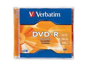 Verbatim 4.7GB 16X DVD-R Single Disc Model 95051