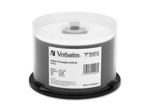 Verbatim MediDisc 4.7GB 8X DVD-R 50 Packs Media Model 94906