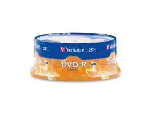 Verbatim 4.7GB 16X DVD-R 25 Packs Disc Model 95058