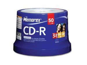 memorex 700MB 52X CD-R 50 Packs Disc Model 04563