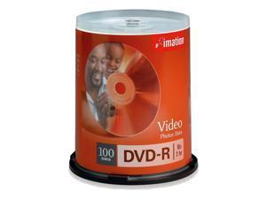 imation 4.7GB 16X DVD-R 100 Packs Disc Model 18059