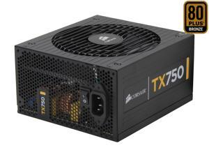 CORSAIR TX Series CMPSU-750TX 750W Compatible with New 4th Gen CPU Certified Haswell Ready