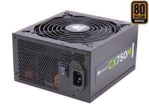CORSAIR CX-M series CX750M 750W 80 PLUS BRONZE Haswell Ready ATX12V & EPS12V Modular Power Supply