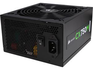 CORSAIR CXM series CX750M 750W ATX12V v2.3 SLI Ready CrossFire Ready 80 PLUS BRONZE Certified Modular Active PFC Power Supply New 4th Gen CPU Certified Haswell Ready