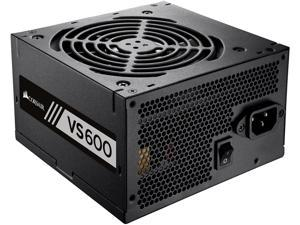 CORSAIR VS Series VS600 (CP-9020119-NA) 600W ATX12V / EPS12V 80 PLUS WHITE Certified Active PFC Power Supply