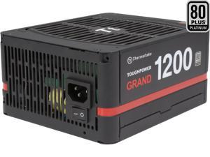 Thermaltake Toughpower Grand 1200W SLI/CrossFire Ready ATX 12V V2.3 / EPS 12V 80 PLUS PLATINUM Certified 7 Year Warranty Full Modular Active PFC Power Supply Haswell Ready PS-TPG-1200FPCPUS-P