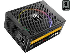 Thermaltake PS-TPG-1250DPCTUS-T DPS G RGB 1250W Digital ATX12V v2.31 / SSI EPS v2.92 80 PLUS TITANIUM Full Modular Active PFC Power Supply