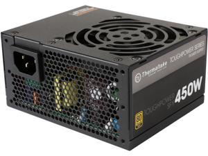 Thermaltake Toughpower SFX/ATX 450W Continuous Power 12V 3.3/ATX 12V 2.4 80 PLUS GOLD Certified Fully Modular Power Supply Skylake C6/C7 Ready PS-STP-0450FPCGUS-G