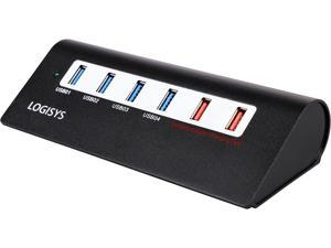 Logisys HBC601 6 Port USB 3.0 Hub & Super Charger