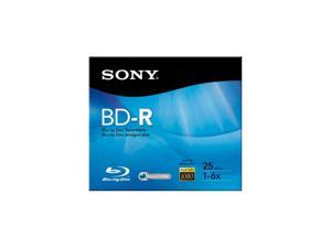 SONY 25GB 6X BD-R Single Disc Model BNR25R3H
