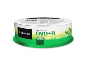 Sony DVD Recordable Media - DVD-R - 25 Pack Spindle