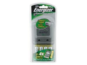 Energizer CHDCWB-4 4-pack 2300mAh AA Ni-MH Rechargeable Batteries & Charger Kit