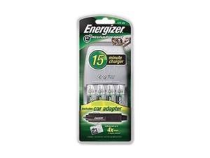 Energizer CH15MNCP-4 4-pack 1400mAh AA Ni-MH Rechargeable Batteries & Charger Kit
