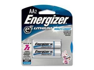 Energizer  L91BP-2  AA Lithium 2-pack Batteries
