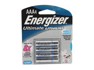 Energizer  L92BP-4 AAA Lithium 4-pack Batteries