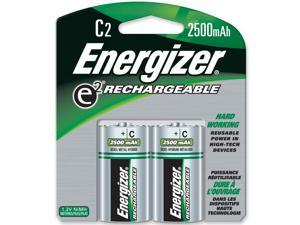 Energizer NH35BP-2 2-pack 2500mAh Size C Ni-MH Rechargeable Batteries