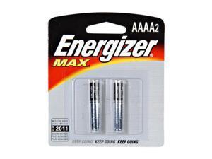 Energizer E96BP2 AAA Alkaline Batteries