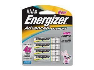 Energizer EA92BP-8 8-pack AAA Lithium Batteries