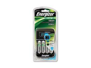 Energizer CHP4WB-4 4-pack AA Ni-MH Rechargeable Batteries & Charger Kit