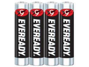 Eveready 1212SW4 4-pack AAA Carbon Zinc Batteries