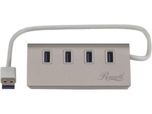 Rosewill RHB-310 USB 3.0 4 Ports Hub (Silver)