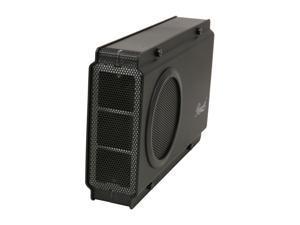 """Rosewill RX-358 U3C BLK – External 3.5"""" Hard Drive Enclosure – Aluminum & Plastic, Black, SATA I / II, USB 3.0 & eSATA"""