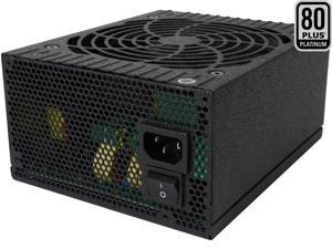 Rosewill Quark-850, Quark Series 850W Full Modular Power Supply with LED Indicator, 80Plus Platinum Certified, Single +12V Rail, Intel 4th Gen CPU Ready, SLI & Crossfire Ready
