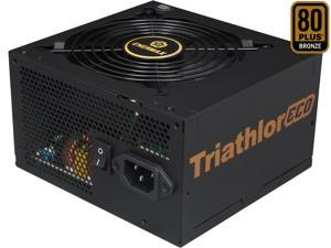 ENERMAX TRIATHLOR ECO ETL650AWT-M 650W ATX12V / EPS12V SLI Ready CrossFire Ready 80 PLUS BRONZE Certified Hybrid Modular Active PFC Power Supply New 4th Gen CPU Certified Haswell Ready