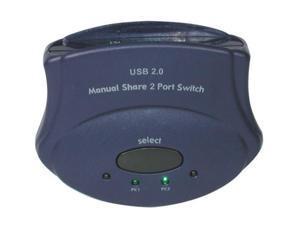C2G 30505 2-Port USB 2.0 Manual Switch