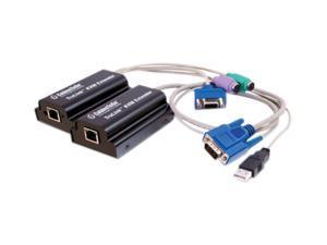 C2G 39969 TruLink VGA/USB & PS/2 KVM over Cat5 Extender