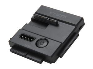 "ICY DOCK MB981U3N-1SA SATA/IDE 2.5""/3.5"" Hard Drive or SSD Portable Adapter supports USB Bus-Powered"
