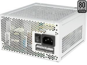 SILVERSTONE Nightjar NJ520 520W ATX12V / EPS12V 80 PLUS PLATINUM Certified Full Modular Active PFC Power Supply
