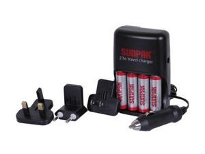 SUNPAK ACC-M1075-01 Rechargeable Batteries & Charger Kit