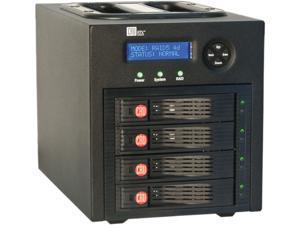 CRU RTX430-3QR (35460-3130-0100) Black SATA I/II/III USB 3.0 & eSATA RAID Huge Volumes in a Portable Enclosure