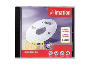 imation 4.7GB 16X DVD-R Single Disc Model 17338