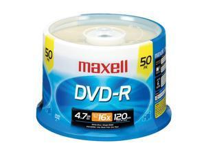 maxell 4.7GB 16X DVD-R 50 Packs Disc Model 638011