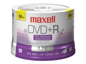 maxell 4.7GB 16X DVD+R 50 Packs Disc Model 639013