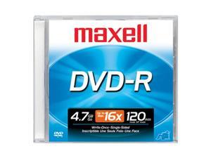 maxell 4.7GB 16X DVD-R Single Disc Model 638000
